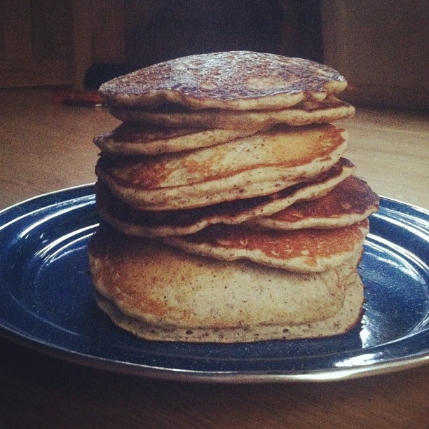 Yeasted buckwheat pancakes by waywardspark http://instagr.am/p ...