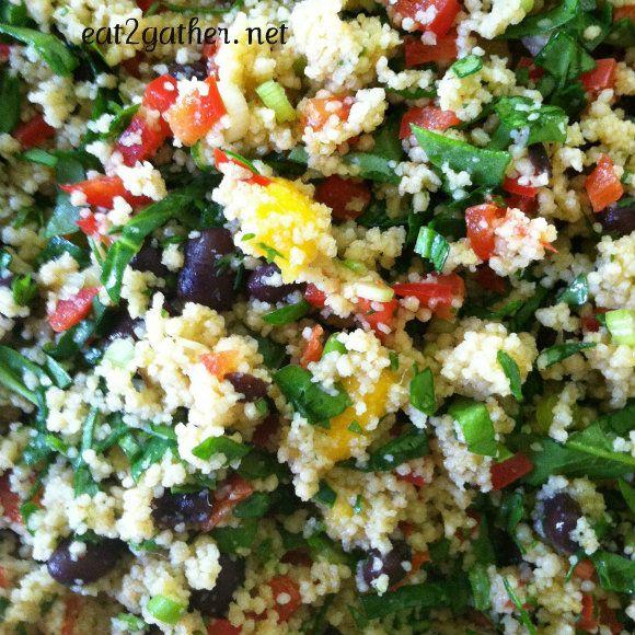 Mediterranean Couscous Salad | Favorite Recipes | Pinterest