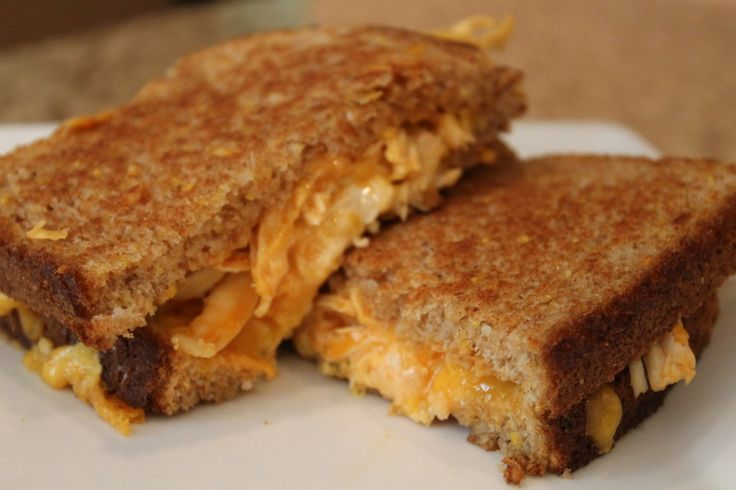 Buffalo Chicken Grilled Cheese | Sandwiches | Pinterest