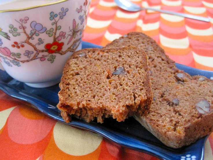 cinnamon carrot bread (gluten-free) | Breads/Muffins | Pinterest