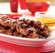 Grilled Rosemary Chicken Thighs with Sweet & Sour Orange Dipping Sauce ...