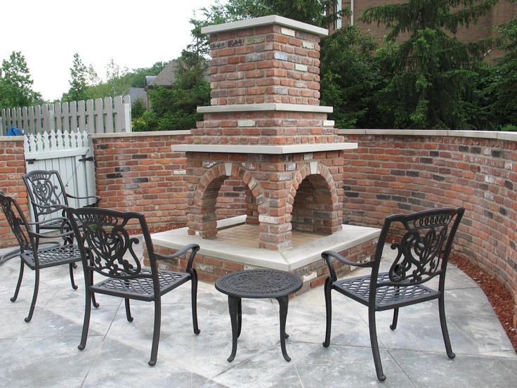 Sided Outdoor Fireplace Truexcullins Home Is Where The Hearth Is