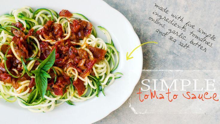 simple tomato sauce | Inspiring Foodies | Pinterest