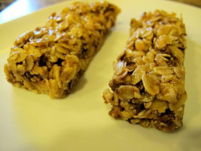 Chewy granola bars | Breakfast foods | Pinterest