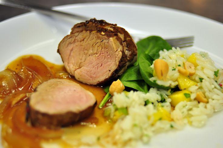 Amazing Slow Cooker Pork Tenderloin | Dinner Ideas | Pinterest