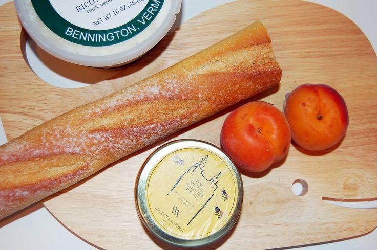 Apricot and Honey Crostini | Minx Eats | Pinterest