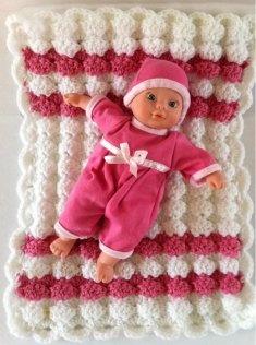 Crochet - Babies & Children - Zigzag Shells Baby Afghan