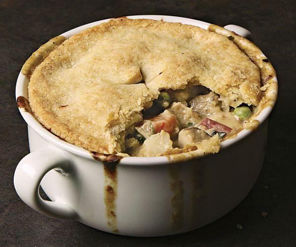 Classic Chicken Pot Pie by Fine Cooking   Chicken Recipes   Pinterest