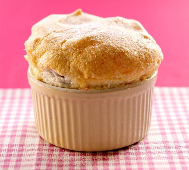 Raspberry Soufflé Recipe - Ready in 35 Minutes - Raspberry Dessert