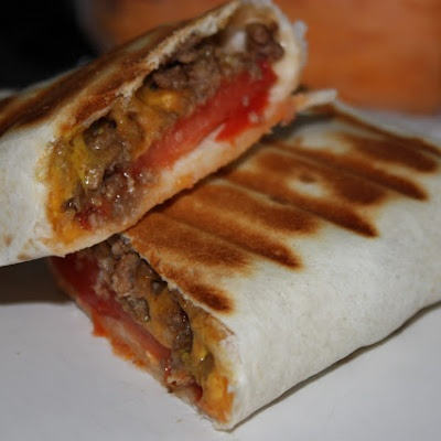 Grilled Cheeseburger Wraps | Sandwiches, Pizza, Tacos, etc! | Pintere ...