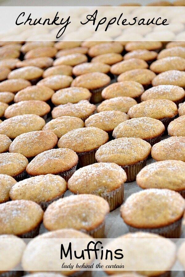 Applesauce muffins | Recipes | Pinterest