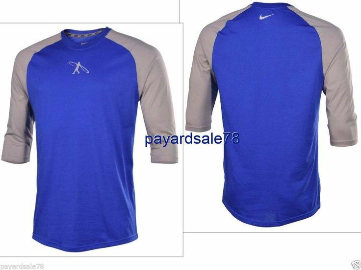 Men 39 S Small Nike Dri Fit 3 4 Sleeve Swingman Baseball T