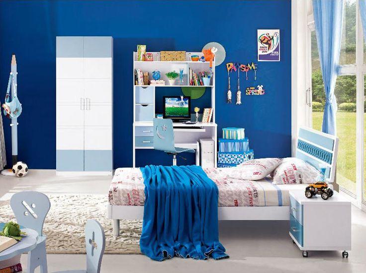 poku00f3j chu0142opiu0119cy w niebieskim kolorze : Dekoracje sypialni ...