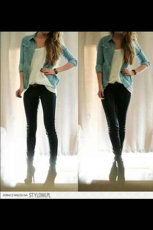 Simple Outfit Teen Style Teen Fashion Pinterest