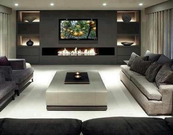 Contemporary Living Room Design Endearing 98C51C89Cb983D2673Bd8977Fd324B37 720×565  Fireplace Design Decoration