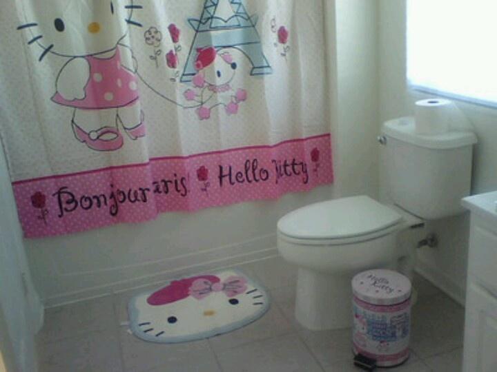 Hello kitty bathroom set!