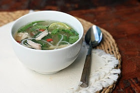 Spicy chicken noodle soup   soups ... for cold days   Pinterest