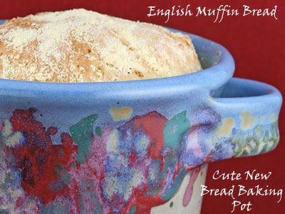 English Muffin loaves | Breads and breakfast | Pinterest