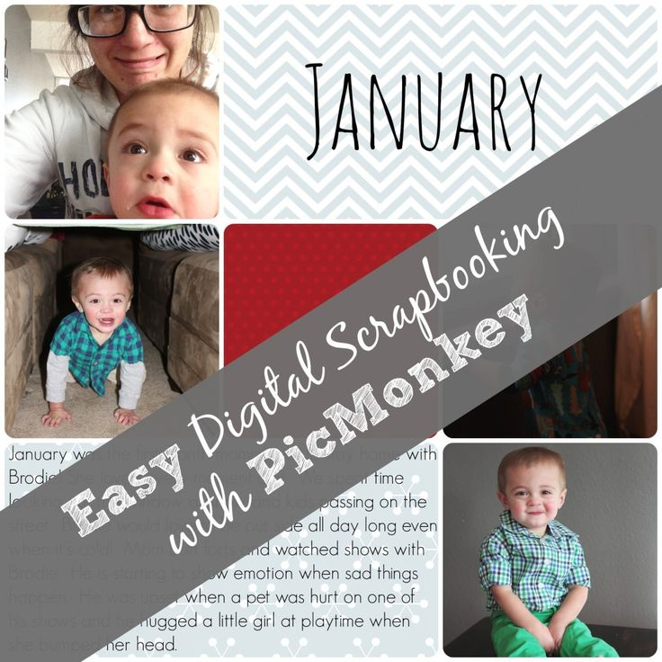 Easy Digital Scrapbooking with PicMonkey