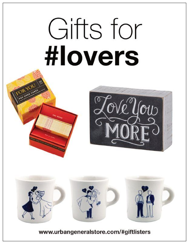 Gifts For Lovers Who Are Your Giftlisters Pinterest