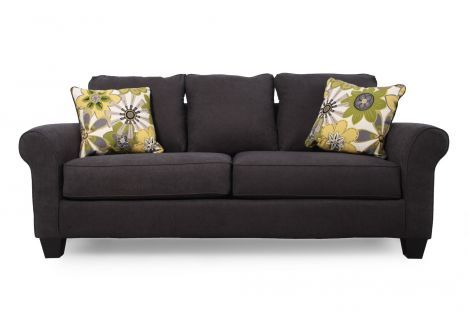 Ashley nolana charcoal sofa for the home pinterest