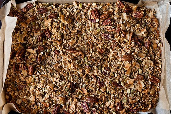 Nekisia Davis' Olive Oil and Maple Granola, copied from the much ...