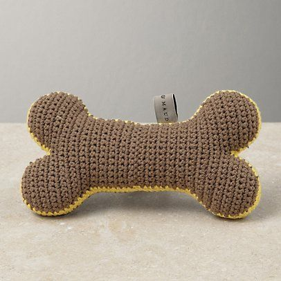 Free Crochet Patterns For Pet Toys : CROCHET DOG TOY BONE PATTERN FREE CROCHET PATTERNS