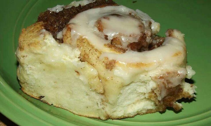 No yeast cinnamon rolls | Muffins, Cinnamon Rolls and Breakfast Bread ...