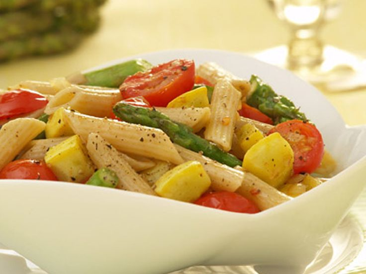 PENNE WITH SPRING VEGETABLES http://www.barillaus.com/content/ricetta ...