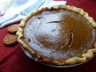 Mrs. Earline Hicks' Gingersnap Pumpkin Pie | Recipe