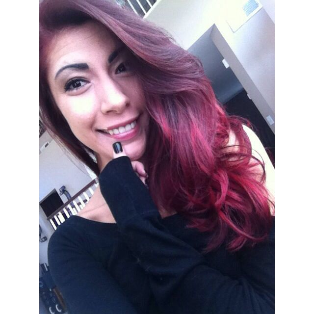 Red Violet Hair Color  Color  Pinterest
