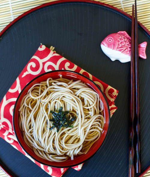 Soba from La Fuji Mama. http://punchfork.com/recipe/Toshikoshi-Soba ...