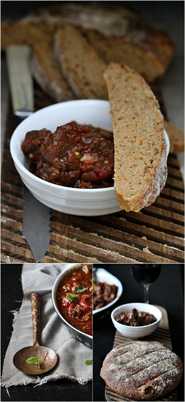 Basque Lamb Stew perfect for Txakoli Rojo made with Hondurrabi Beltza ...