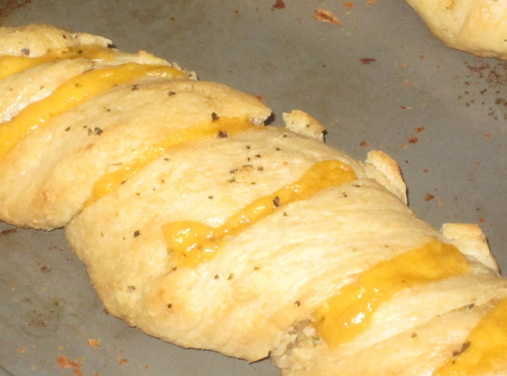 Twisted Garlic & Cheese Bread! | Appetizers | Pinterest