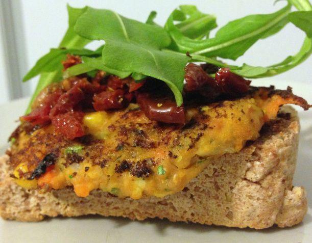 Spiced Lentil burgers (GF, vegan) | Easy Vegan Dinners | Pinterest