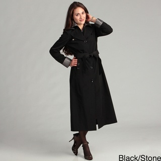 @Overstock.com - Fashion meets comfort with this two-tone belted raincoat. This women's coat is fully lined for warmth and finished off with a tie waist, removable hood, and front pockets giving you a stylish warm look. This coat is machine washable for easy care.http://www.overstock.com/Clothing-Shoes/London-Fog-Womens-Two-tone-Belted-Raincoat/6990925/product.html?CID=214117 $159.99