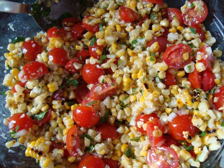 Heirloom Tomato and Grilled Corn Salad | Recipe