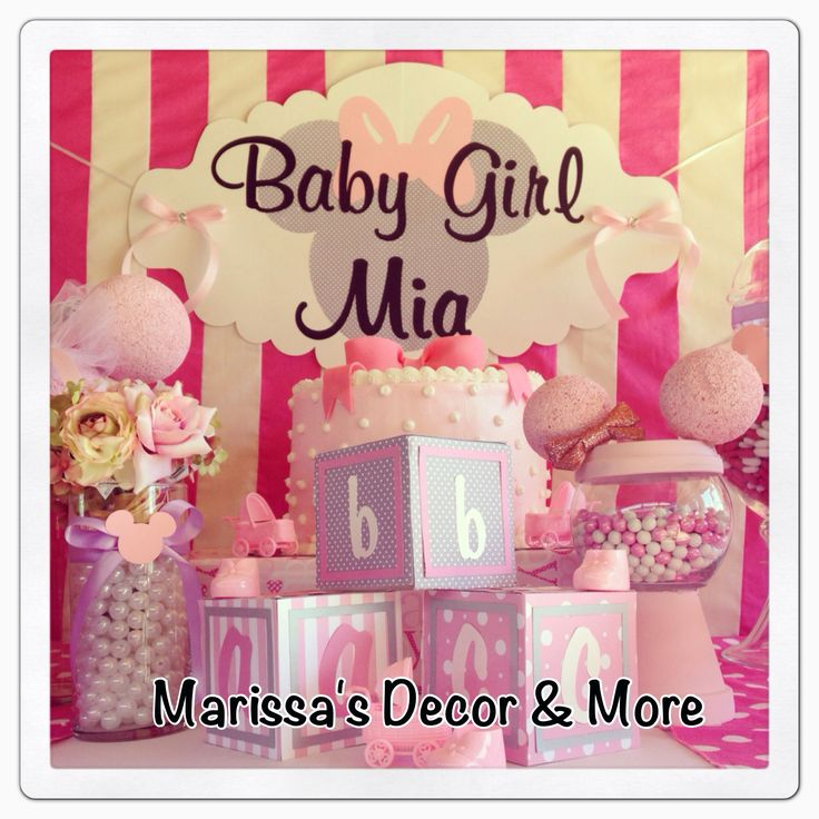 baby shower minnie mouse theme party ideas pinterest