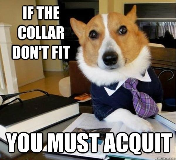 For all those instances when you really require a lawyer.