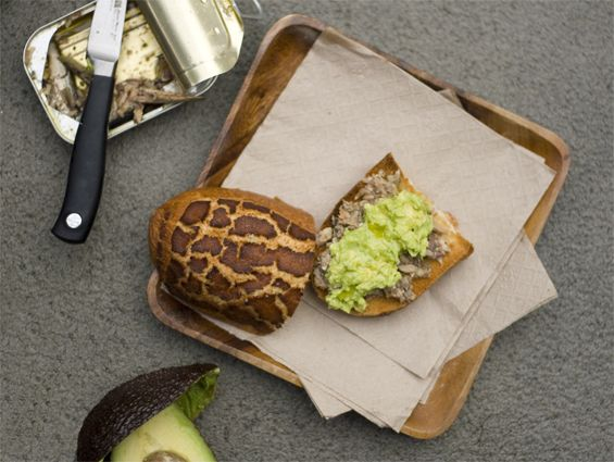 Alton Brown's Sardine-Avocado Sandwiches Recipe — Dishmaps