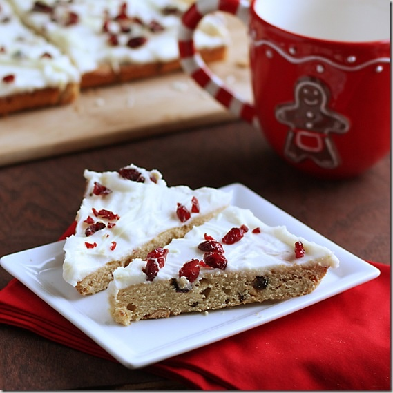 Homemade Starbucks Cranberry Bliss Bars | Recipes | Pinterest