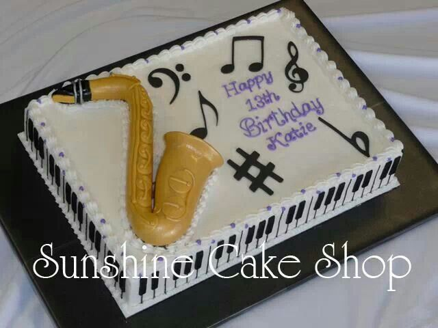 Music Theme Cake Cakes! Pinterest