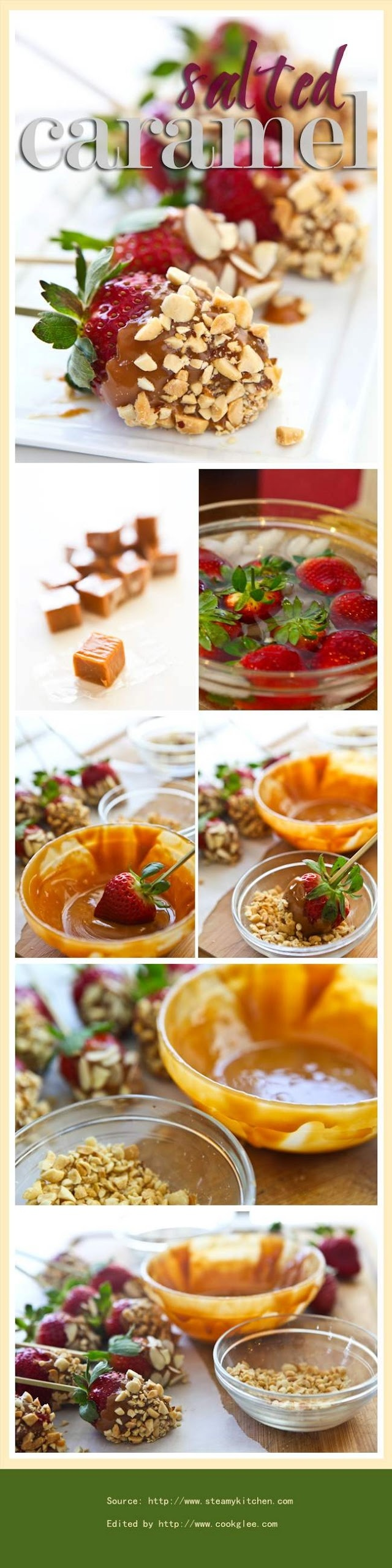Salted Caramel Covered Strawberries | Appetizers & Finger Food | Pint ...