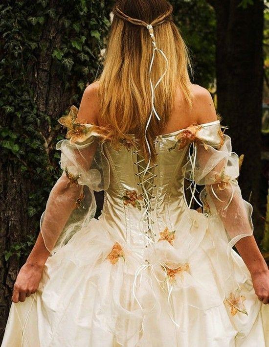 Fall Beach Wedding Dresses 25