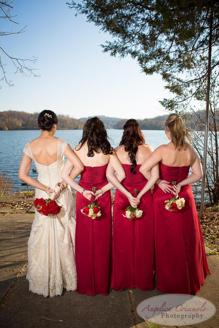 Bridesmaid Wedding Picture Ideas, NJ Wedding Photography Ideas Red Theme Wedding jenbrandonweddingteaser11.11.12-5