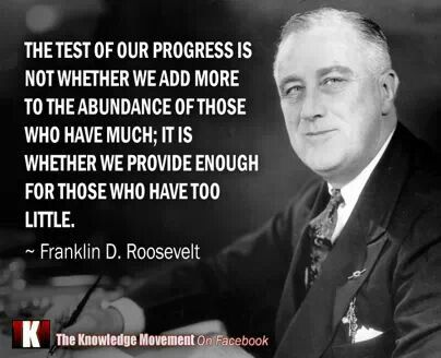 FDR quote Quotations will tell the full measure of