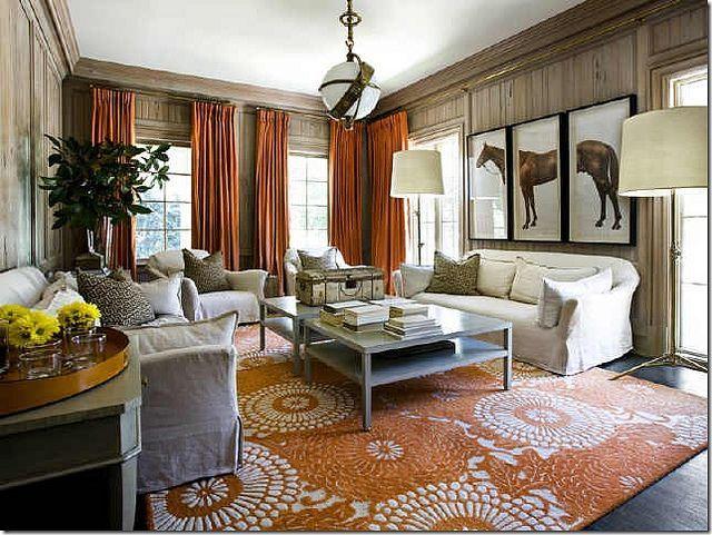 Orange Living Room Homeownerbuff Living Room Pinterest