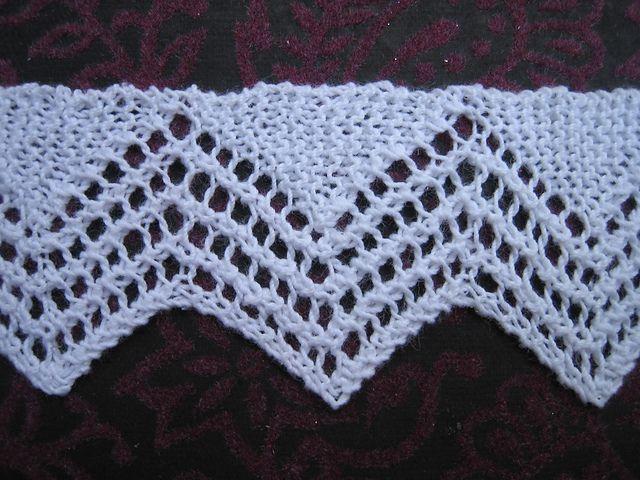 vintage van dyke lace edging