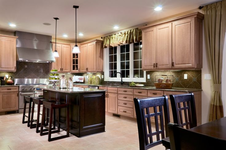 Toll Brothers The Harding Kitchen Decorating Ideas Pinterest