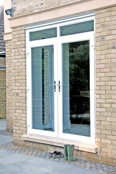 Exterior upvc french doors eurocell kitchen pinterest for Upvc french doors